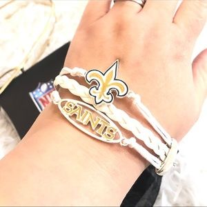 Ashley Bridget NFL New Orleans Saints Bracelet NIB